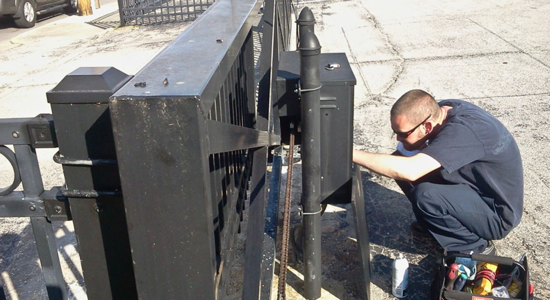 Security Gate Repair